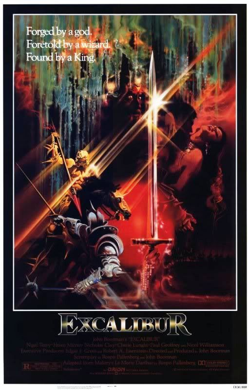 Lancelot and Guinevere, 1981 Excalibur