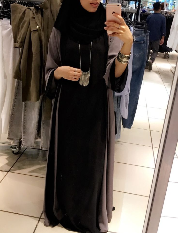 IG: BeautiifulinBlack || Abaya Fashion ||