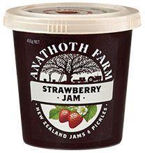 Anathoth Strawberry Jam #lowFODMAP #wheatfree
