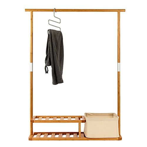 Amazing Multi Purpose Garment Rack U0026 Segarty Portable Clothes Rack U0026 Clothes Hanging  Rack U0026 Easy Organization With Top Hanging Rod, 2 Tier Shoe Shelves And  Laundry ...