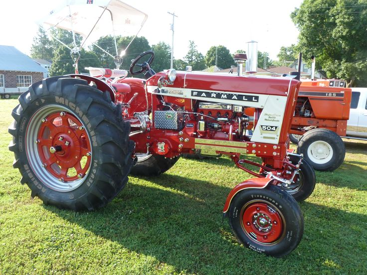 International 504 Tractor : Best images about farmall case ih girl on pinterest