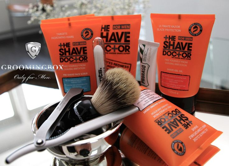 "Groomingbox presents ""Your Shave Doctor"". Premium shaving kit for Men. #shavedoctor #shaving #proraso #razor #dovo #shavette #straightrazor #shave #shaveoftheday #shavelikeaman #shavelikeagetnleman #shavingbrush #shavingbowl #benajminbarber #aftershave #mensgrooming #subscriptionbox #grooming #wetshaving #classic #vintage #lifestyle #menstyle #gadgets #accessories #men #giftbox #perfectgift #formen #forhim #mensworld"