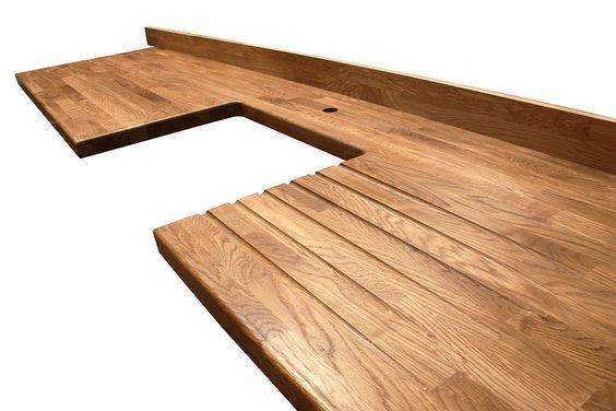 ber ideen zu arbeitsplatte eiche auf pinterest. Black Bedroom Furniture Sets. Home Design Ideas