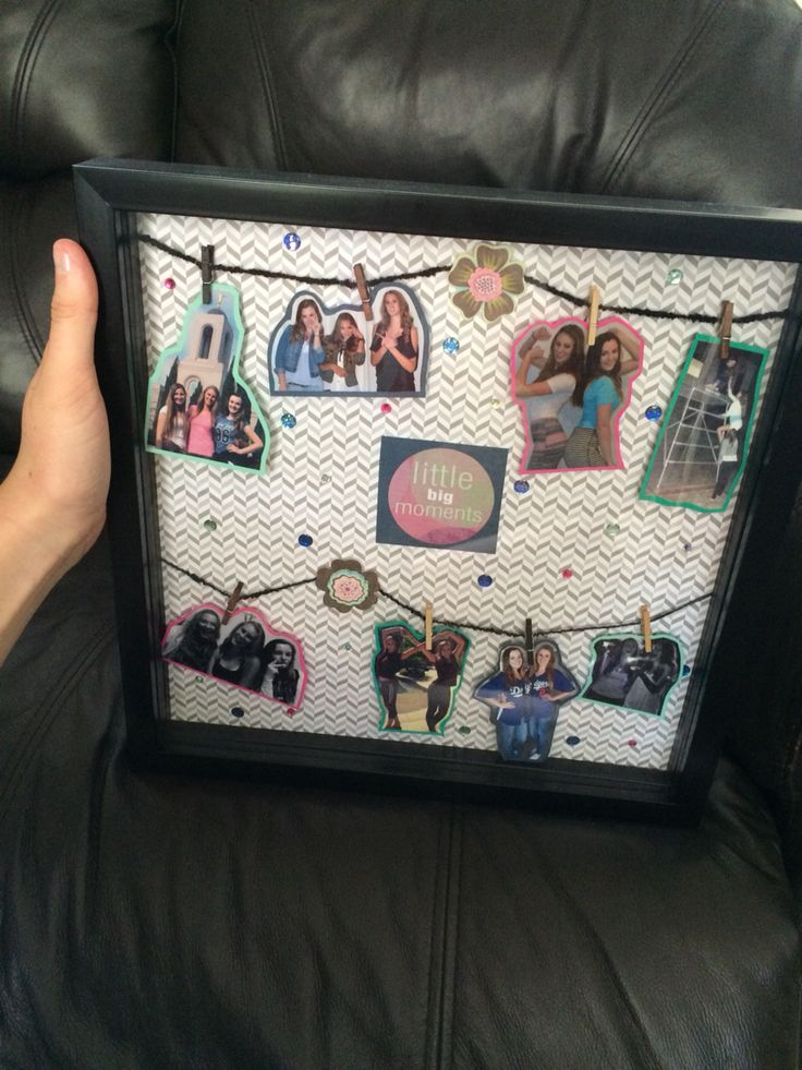 A Shadow Box For My Best Friends Birthday Gifts