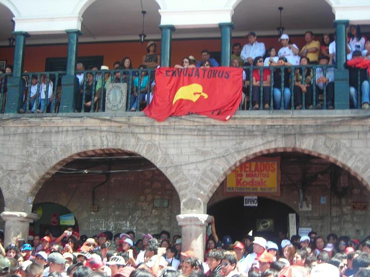 El jala toro en Ayacucho (Perú/Semana Santa 2010).