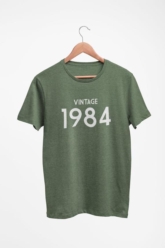 Custom T Shirt For Men Vintage T Shirt Personalised T Shirt