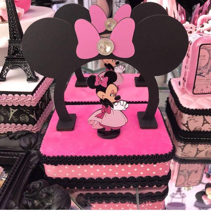 4 157 Curtidas 12 Comentários: 25+ Melhores Ideias Sobre Centros De Mesa Mickey & Minnie