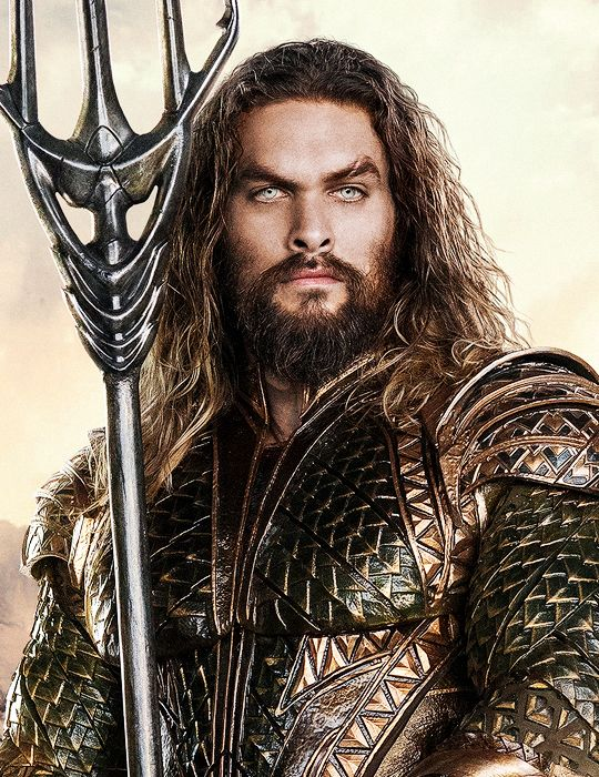 "dcfilms: ""Jason Momoa as Arthur Curry/Aquaman in Justice League (2017) """