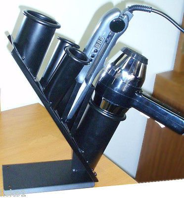 VINCENT #VT1924 COUNTER TOP SALON/ STYLIST HAIR DRYER / FLAT IRON HOLDER