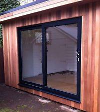 uPVC Sliding Patio Doors - White, Oak, Grey, Black - New uPVC Patio Doors