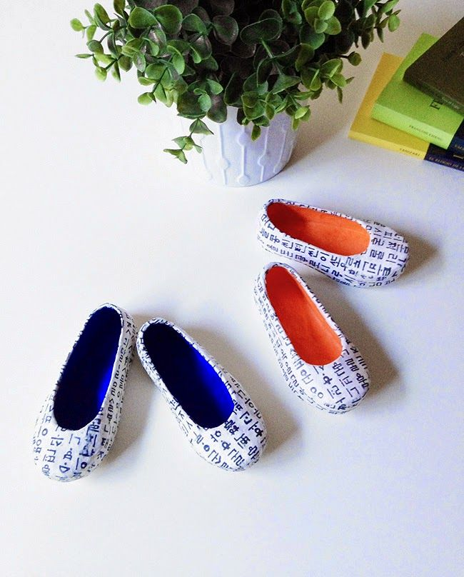 Little * Haus Magazine: Gomusin: zapatitos para decorar y festejar