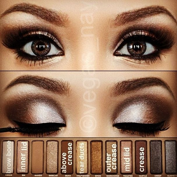 Naked Palettes are a must have for blue eyed beauties...with so many richly pigmented browns, neutrals, and golden shades I have endless possibilities for playing up my dark blue eyes.
