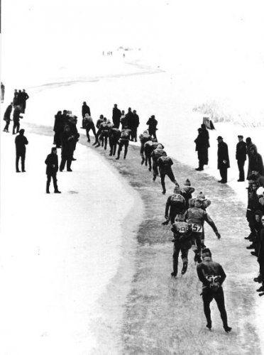 Elfstedentocht '63. 18-01-1963