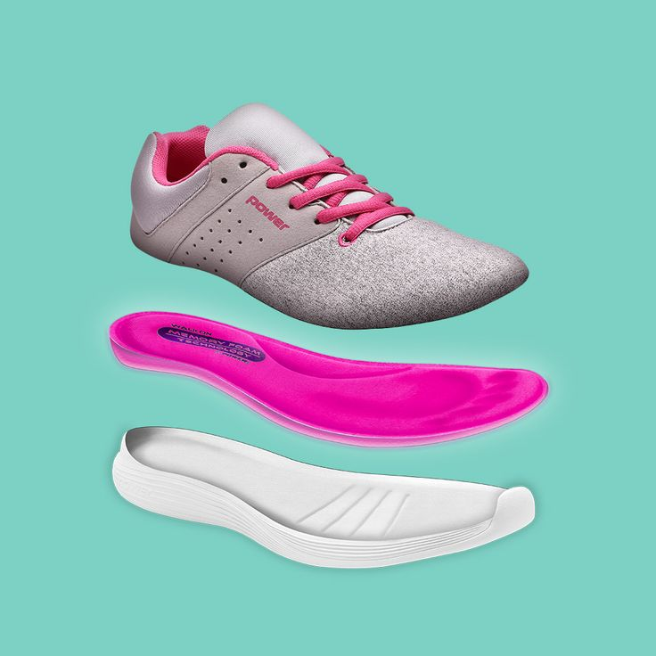 Introducing our Memory Foam technology: an ultra soft insole that contours  to your foot and