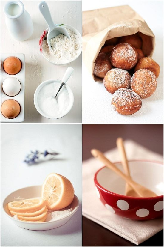 "Meyer Lemon & Sour Cream Donuts Recipe - ""These donuts are so easy t..."