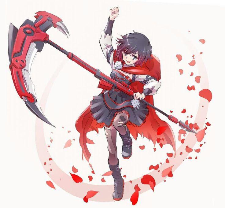 Rwby ruby rwby pinterest rwby anime and team rwby - Rwby ruby rose fanart ...