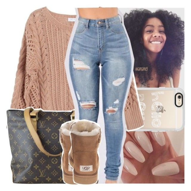"""see first of all, i wanna tell you what a blessing you are"" by lamamig ❤ liked on Polyvore featuring Casetify, Ryan Roche, Louis Vuitton and UGG Australia"