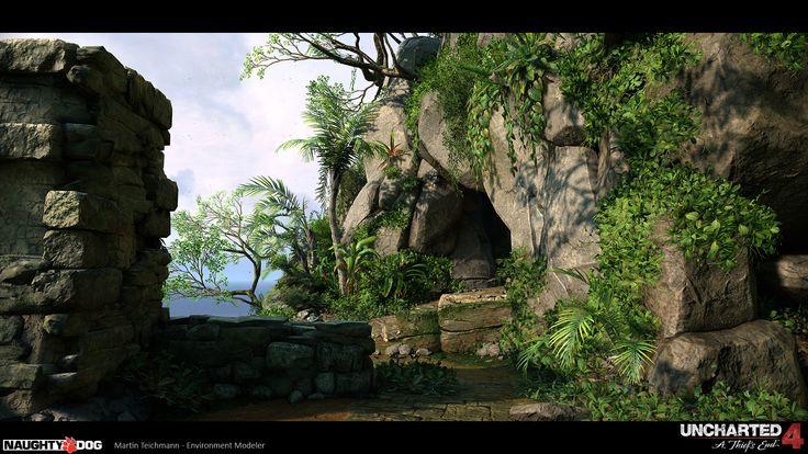 ArtStation - Uncharted 4 - Island MP, Martin Teichmann