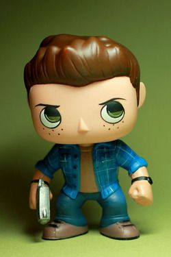 Supernatural POP vinyl customs. Dean Winchester