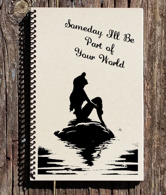 Hey, I found this really awesome Etsy listing at https://www.etsy.com/uk/listing/243964196/little-mermaid-notebook-the-little