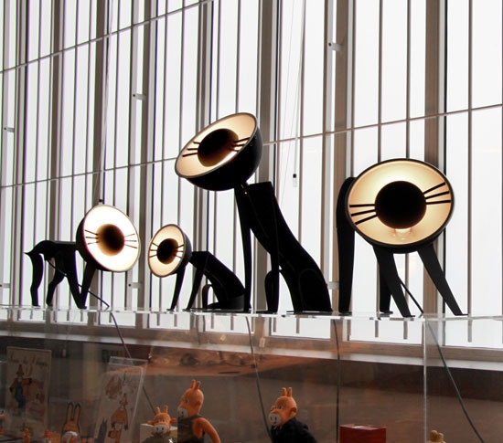 Olivier Kuntzel et Florence Deygas (Design Kunzel+Deygas) – Lampe MiCha