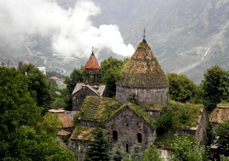 Սանահին. Le complexe du monastère. Լոռի. Երկիր Հայոց