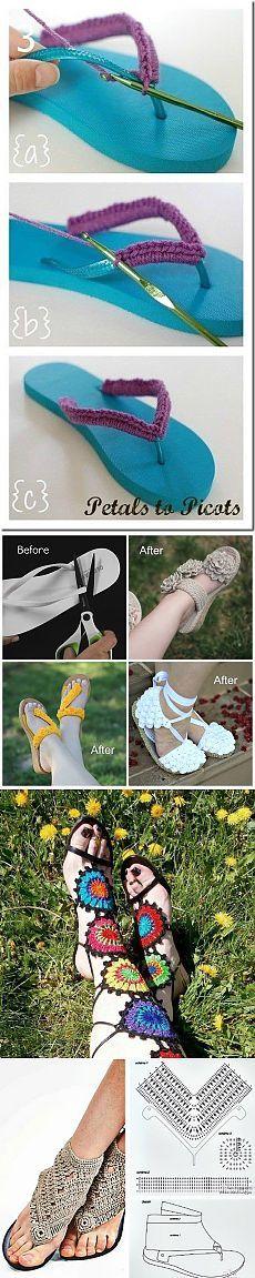 Вязаные украшения для ног (продолжение) - vkaravan48865@mail.ru - Почта Mail.Ru