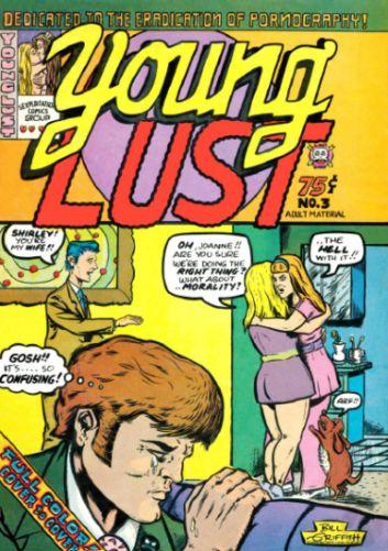 underground comic art | Underground Comics: Young Lust #3