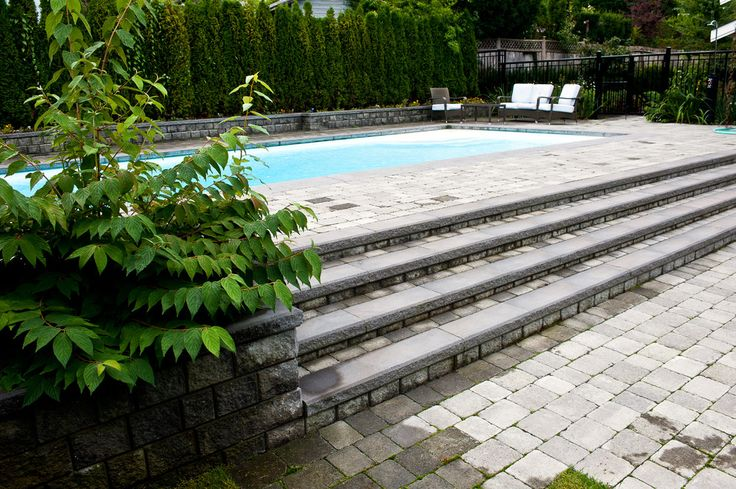 Marvelous above ground pool stairs in Pool Traditional with Fiberglass Pools next to Pool Steps alongside Elevated Pool and Paver Sidewalk
