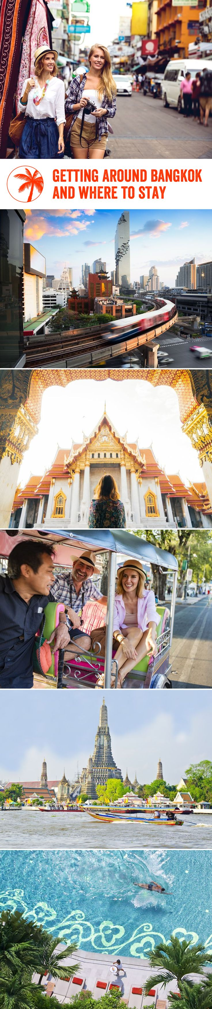 Getting around #bangkok #thailand and where to stay