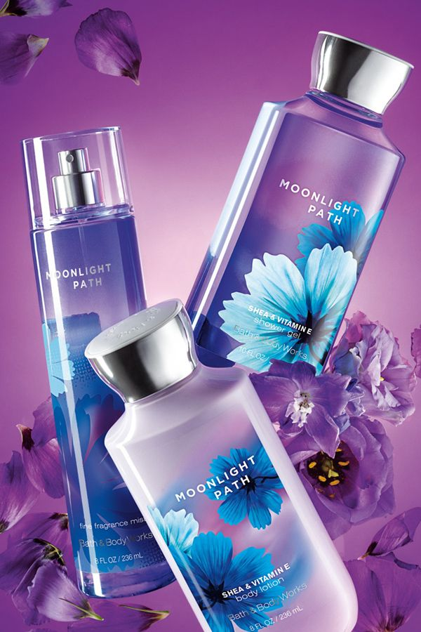 My ABSOLUTE FAVORITE SCENT from B&BW. A soft blend of lavender, lilies, oak moss & musk.