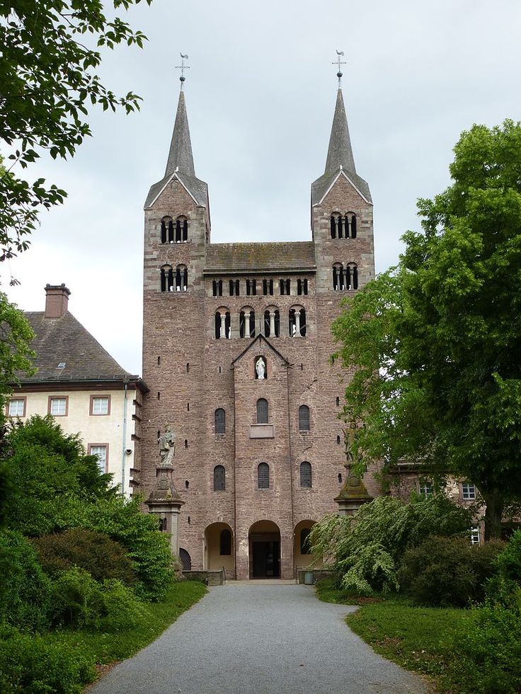 Corvey Westwerk - Imperial Abbey of Corvey