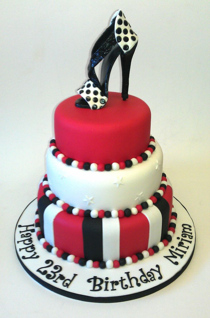 Birthday Cake Designs Shoes : 25 best images about BIRTHDAY CAKE IDEA on Pinterest ...