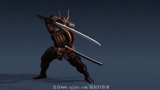 【新提醒】韩国动画师动作合集39 武士打...