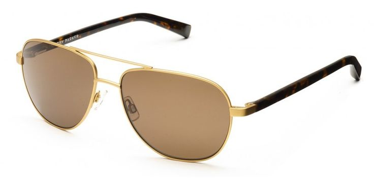 Warby Parker Exley Polished Gold