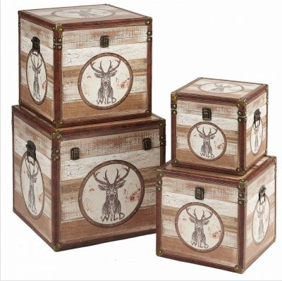 Wooden Craft Boxes Wholesale Add unique style to your home interiors with this Wooden Craft Boxes set, different 4 sizes for storing daily trinkets, its elegant appearance allow you to match it with almost any decor, it is not just a versatile storage boxes. Kingdeful Arts & Crafts Co.,Ltd.