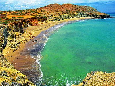 Playa del Ojo del Agua Guajira, Colombia