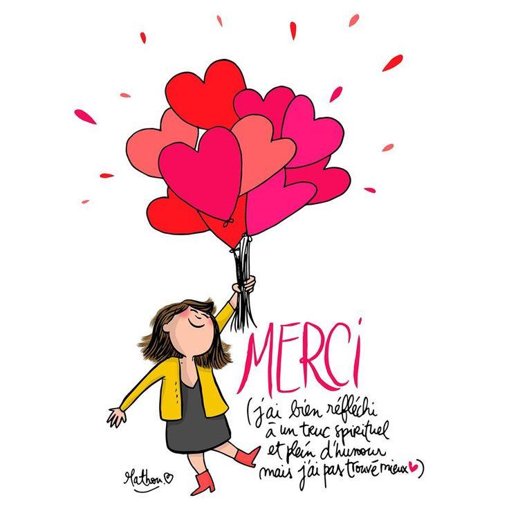 Illustration Crayon d'Humeur by Mathou www.crayondhumeur.com Thank You ♥