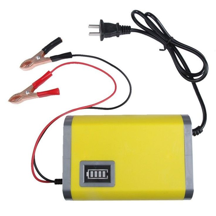 Car Battery Rechargeable Charger Portable Adapter Power Supply Jump Starter Acid #CarBattery