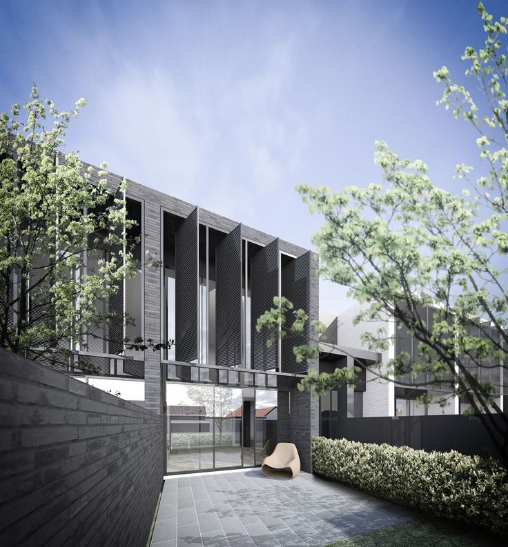 The first concept images of our latest luxury townhouse and apartment development in the inner-east of Melbourne ....