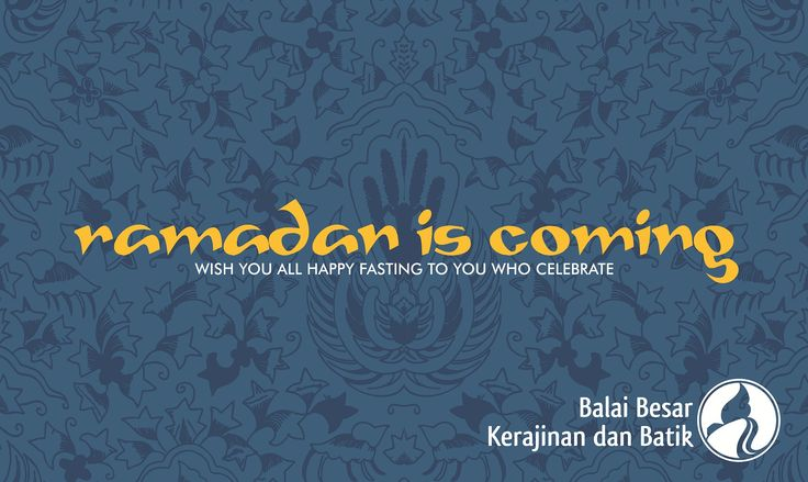 Ramadan is coming | wish you all happy fasting to you who celebrate