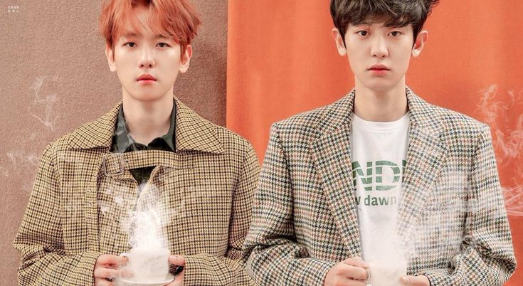 Chanyeol Baekhyun 'UNIVERSE' #Cafe_Universe #EXO #Chanbaek
