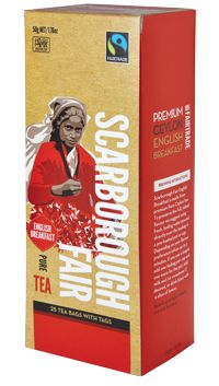 Scarborough Fair - English Breakfast Tea.  Check this and heaps more #Fairtrade products out here: http://fairtrade.org.nz/en-nz/buying-fairtrade-products #tea