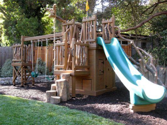 Playset Ideas Backyard how to landscape under a swing set ideas for jacks playset Find This Pin And More On Playset Ideas