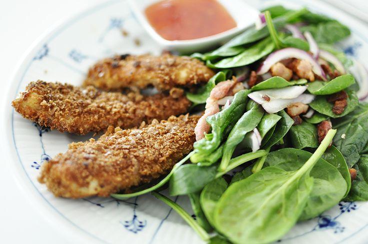 Opskrift // Sunde Kylling nuggets