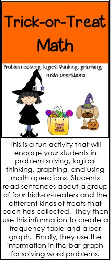 Problem solving, logical thinking, graphing, math operations