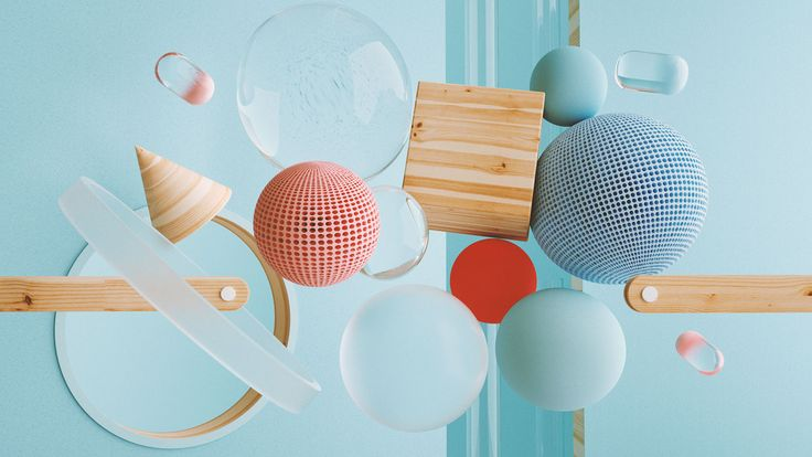 Shapes & Colours on Behance