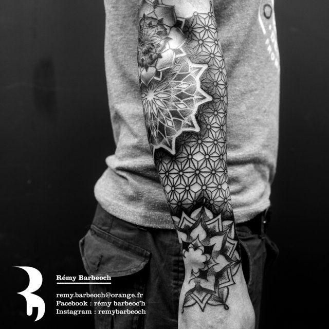 tatouage géométrique - Le meilleur du tatouage