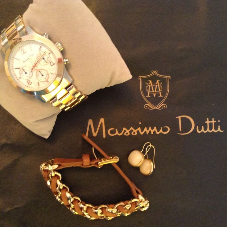 My new accesories for this fall! Massimo Dutti. Love it :)