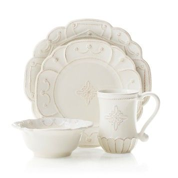 White/Ivory Dinnerware - Bloomingdaleu0027s  sc 1 st  Pinterest & 18 best French Country Dinnerware images on Pinterest | White ...